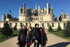 Friends in Chambord, France