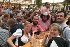 Party People at Oktoberfest, Germany