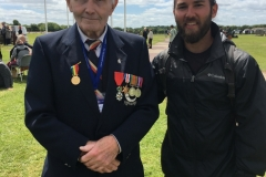 WWII Veteran in Normandy, France