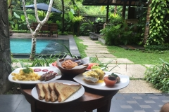 Breakfast in Bali