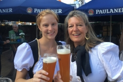 Beer at Oktoberfest in Munich, Germany