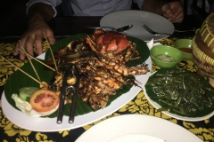 Fish Dinner in Bali