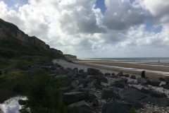 D-Day Beach in Normandy, France
